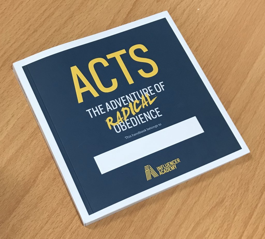 Acts: The Adventure of Radical Obedience