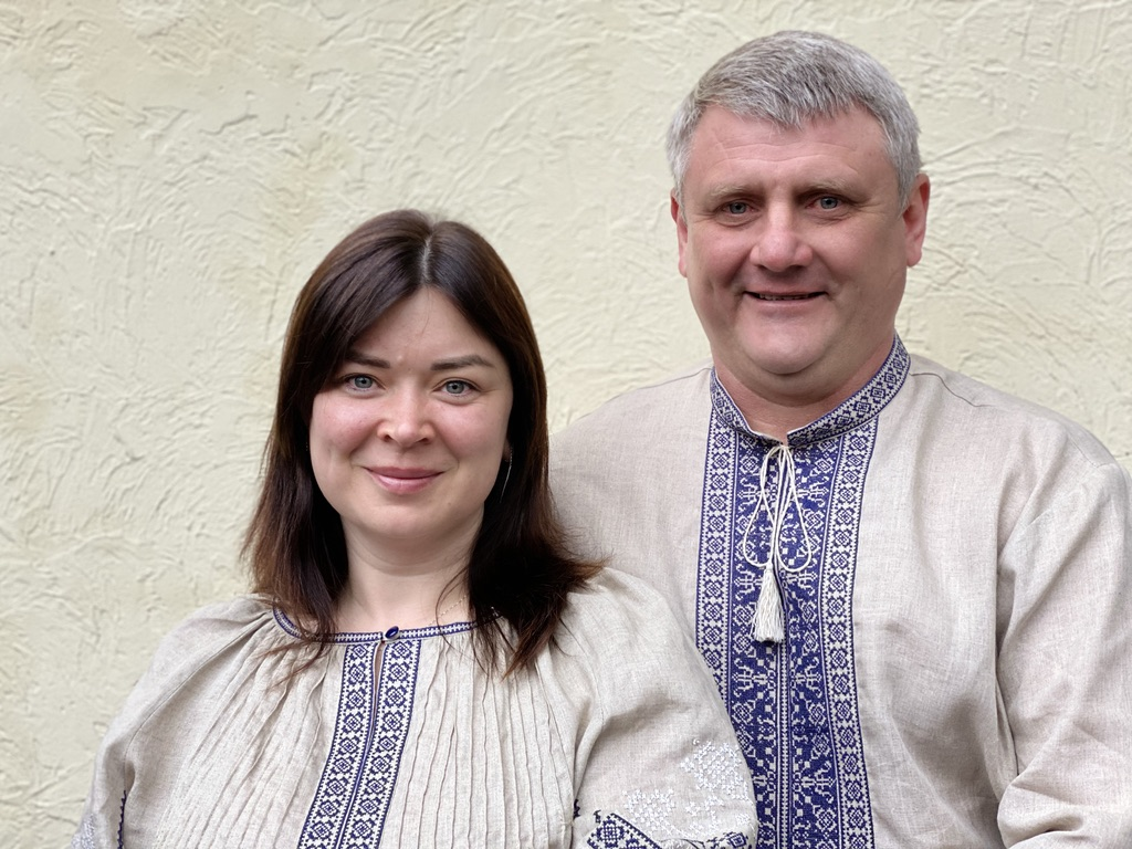 Andrey and Tanya in Traditional Clothes