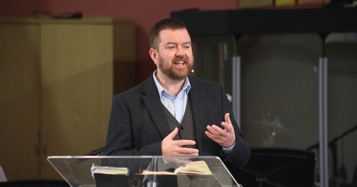 Mark Arnold speaking