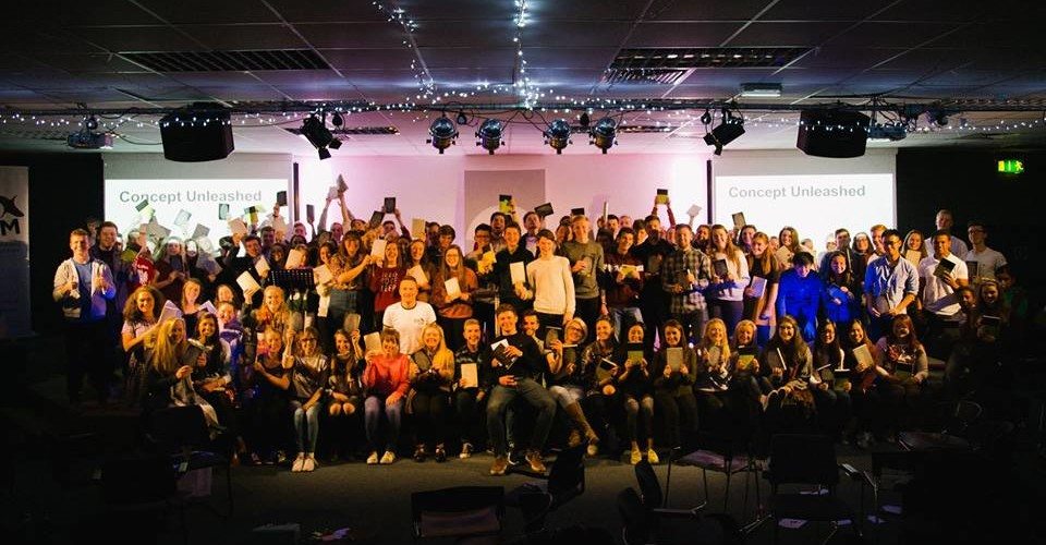 Exodus invested in Bibles for their young people to give away